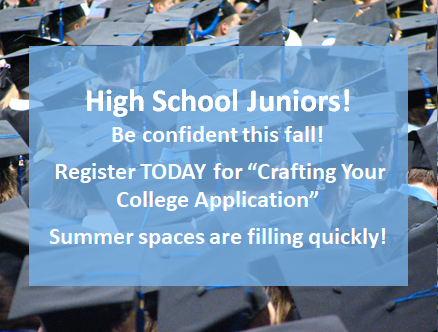 Sign up for summer college application camp!